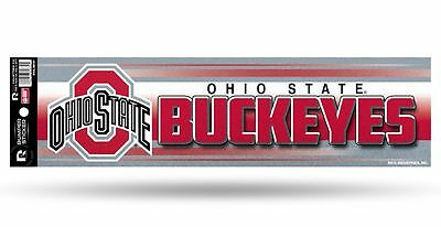 Ohio State Buckeyes Glitter Bumper Sticker [NEW] NCAA Auto Car Truck Decal - Ncaa Ohio State Buckeyes Bumper