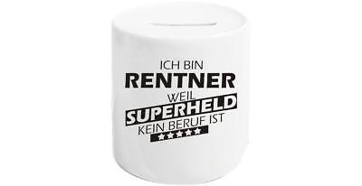 Geschenkideen für jeden Anlass, Ich bin Rentner weil Superheld kein Beruf ist ()