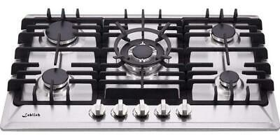 30 Inch Gas Cooktop, Sealed 5 Burners Gas Cooktop,Stainless