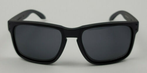 Oakley Holbrook Matte Black Black Lens Sunglasses 009102