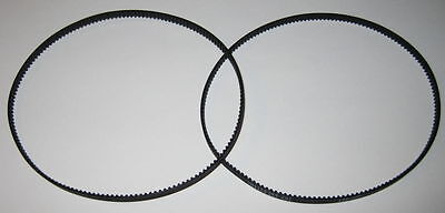 """- 13 Teeth // in 2 X Hobby Motor Drive Belts Small 1.75/"""" Dia - 5//32/"""" Wide"""