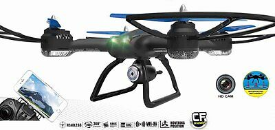 Drohne XXL 60cm Quadrocopter QR9 FPV Live View HD Kamera WiFi 2.4Ghz Race