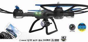 Drohne XXL 60cm Quadrocopter QR9 FPV Live View HD Kamera WiFi 2.4Ghz Race