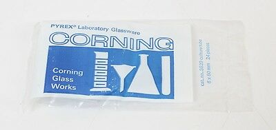Lot Of 24 Corning Pyrex 0.5ml Rimless Culture Tubes 6x50mm 9820-6