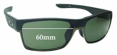 SFx Replacement Sunglass Lenses fits Oakley Two Face OO9256 Asian Fit - 60mm (Asian Face Sunglasses)