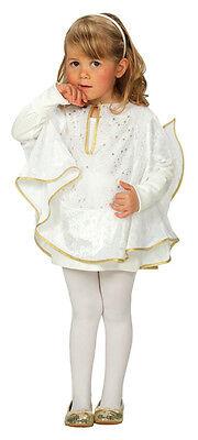 Kinderkostüm kleiner Engel mit Flügel Kostüm für Kinder Engelchen Fasching (Kleiner Engel Flügel Kostüm)