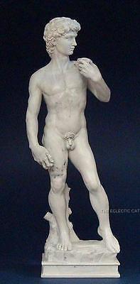 DAVID by MICHELANGELO NUDE MALE STATUE SCULPTURE ITALY ITALIAN ART