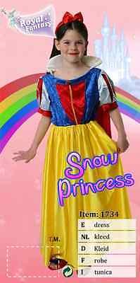 Schneewittchen Kostüm 104-140 Snowwhite Märchen Prinzessin Fasching (Snow White Prinzessin Kostüm)