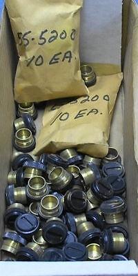10 Brush Cap 55-5200 Carbon Electrical Motor Motor Brush Cap