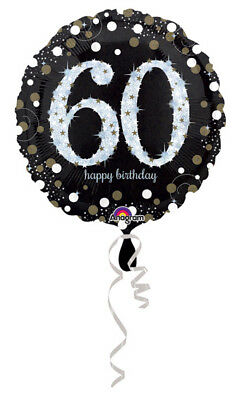 60th Birthday Decorations Party Supplies 60 yrs old Mylar 18