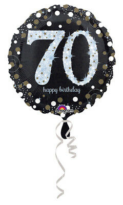 70th Birthday Balloon Decorations Party Supplies 70 yrs old Mylar 18
