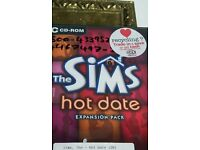 The Sims Hot Date Expansion Pack