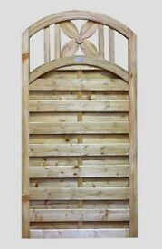 3ft x 6ft Jasmin Decorative Garden Gate Only £75.00 Call 0161 962 9127 Open 7 Days A Week