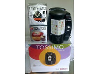 Tassimo T65 Coffee Machine in Excellent condition + Two Packs of 16 Coffee Pods