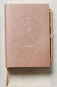 Anthropologie Zodiac Journal Taurus Astrology