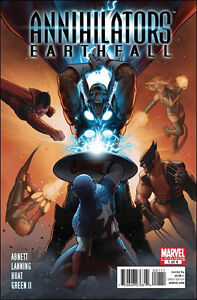 Annihilators: Earthfall #1-4