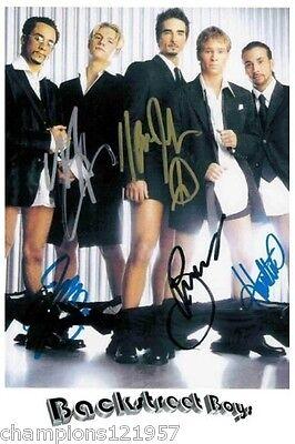 Backstreet Boys ++Autogramm++ ++POP Kultgruppe ++