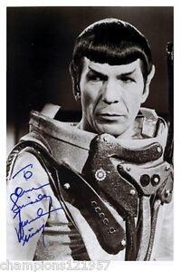 Leonard Nimoy ++Autogramm++ ++Star Trek -Mr.Spock++2