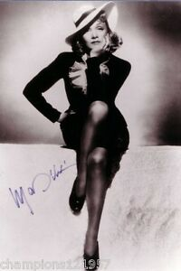 marlene dietrich autogramm hollywood legende 5 ebay. Black Bedroom Furniture Sets. Home Design Ideas