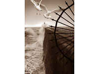 Tynemouth Pier Canvas Print Photo Picture Newcastle Upon Tyne