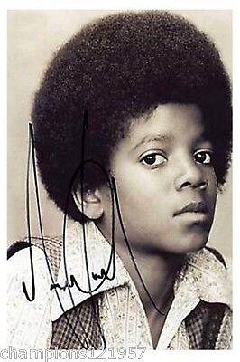 Michael Jackson ++Autogramm++ ++POP Legende ++2