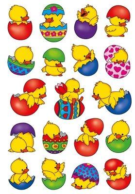 HERMA 3686 10x Sticker DECOR Küken im Ei
