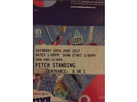 Capital summertime ball tickets - general admission -standing - Wembley - June 10 - summer time