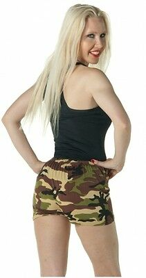 ARMY/CAMOUFLAGE PRINT SHORTS FOR FANCY (Army Shorts Kostüm)