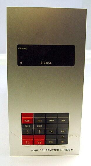 Bruker NMR GAUSSMETER E R 035 M