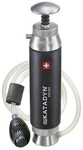 Katadyn Pocket water filter purifier - shipping worldwide -