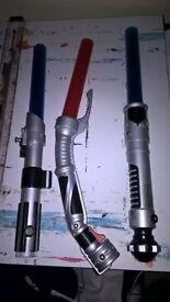 Star wars light sabers