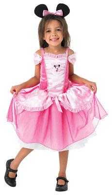 PRINZESSIN BALLERINA KOSTÜM MINNIE MAUS Kleid DISNEY mit Haarreif/Ohren - Minnie Maus Ballerina Kostüm