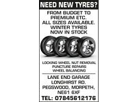 new tyres at discounted prices car van 4x4 etc