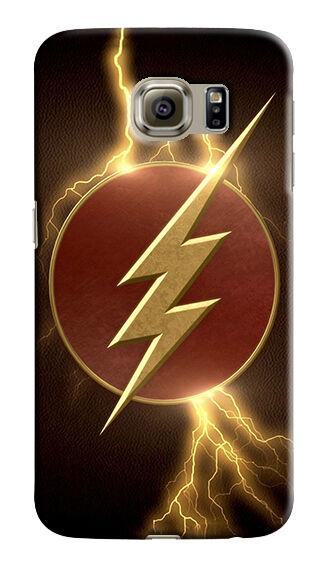 Flash Hero Logo Samsung Galaxy S4 5 6 7 8 9 10 E Edge Note 3