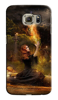 Halloween Witch Horror Samsung Galaxy S4 5 6 7 8 9 10 E Edge Note 3 Case Cover 1