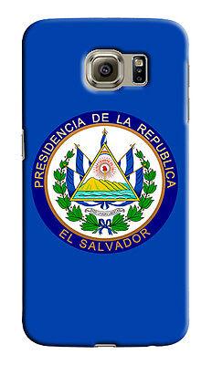 Samsung El Salvador (El Salvador Coat Of Arms Samsung Galaxy S4 5 6 7 8 9 10 E Edge Note 3 Plus Case)