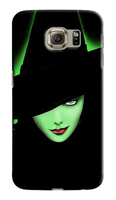 Halloween Green Witch Samsung Galaxy S4 5 6 7 S8 Edge Note 3 4 5 8 Plus Case