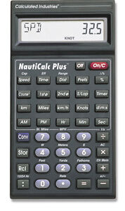 Calculated Industries NautiCalc $25.00 Firm