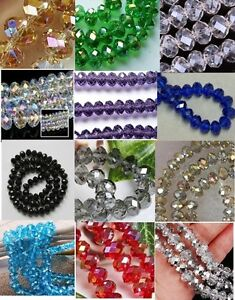 Cheap-wholesale-various-colors-6x8mm-crystal-beads-72pc-Z-02-Free-Shipping