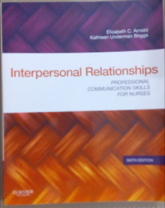 Interpersonal Relationships, 6th edition, Elizabeth C. Arnold