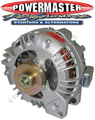 Powermaster 75191 Chrysler Square Back Alternator 90 Amp 1V Pulley One Wire VR