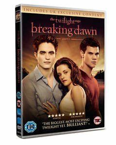 The TWILIGHT Saga Breaking Dawn Movie Part 1 Exclusive Film Content New DVD