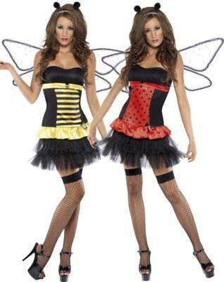 NEW Reversible Bumble Bee Lady Bug Halloween Costume S