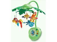 Fisher price rainforest peek a Boo mobile