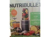 BRAND NEW GRAPHITE NUTRIBULLET 12 PIECE SET