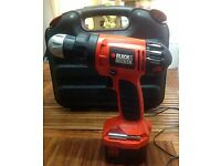 Black & Decker A9252 Driver Power Drill with Bits