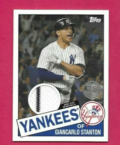 2020 Topps Opening Day #87 Giancarlo Stanton NM-MT Yankees