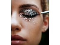Party mobile glitter makeup artist corporate events Christmas hen parties