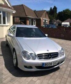 Mercedes CLK diesel very low mileage