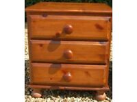 Victoria Pine Bedside Table